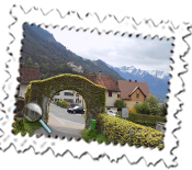 Scenery around Vaduz