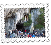 The Lourdes grotto