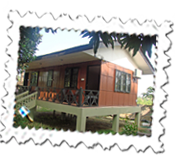 Our cottage accommodation at Jungle World Resort, Chitwan National Park