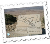 Moses's view of the Promised Land from Mount Nebo