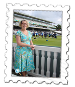 Mary was delighted to have met MSD and be back at Lord's