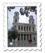 L'Eglise Saint-Sulpice, mentioned in The Da Vinci Code