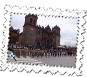 Before a procession in Cusco
