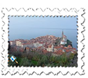 Piran from the town walls