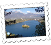 The view from Osojinca, Lake Bled