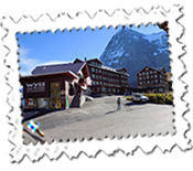 Kleine Scheidegg with the Eiger behind