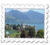 Spiez, on Lake Thun, is always magical