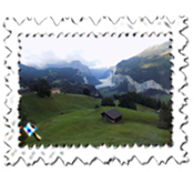 The wonderful Lauterbrunnen Valley
