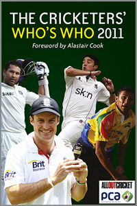 The Cricketers whos who 2011
