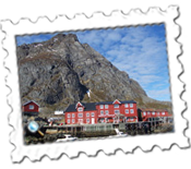 The youth hostel at A i Lofoten where I stayed