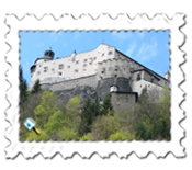 Schloss Hohenwerfen, used extensively in Where Eagles Dare