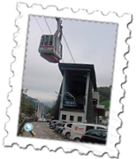 The cable car may have changed but the station still looks the same from Where Eagles Dare